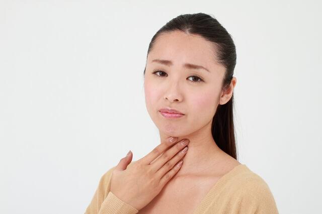 花粉症症状 のど痛み
