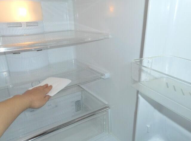 引越し冷蔵庫