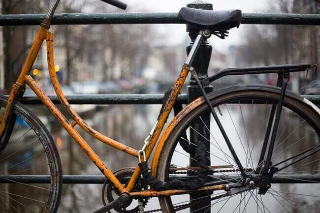 古い自転車の処分