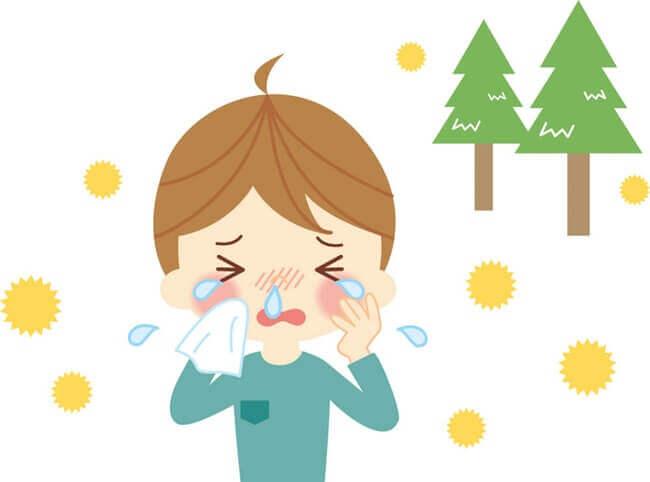 花粉症の症状で目がかゆい