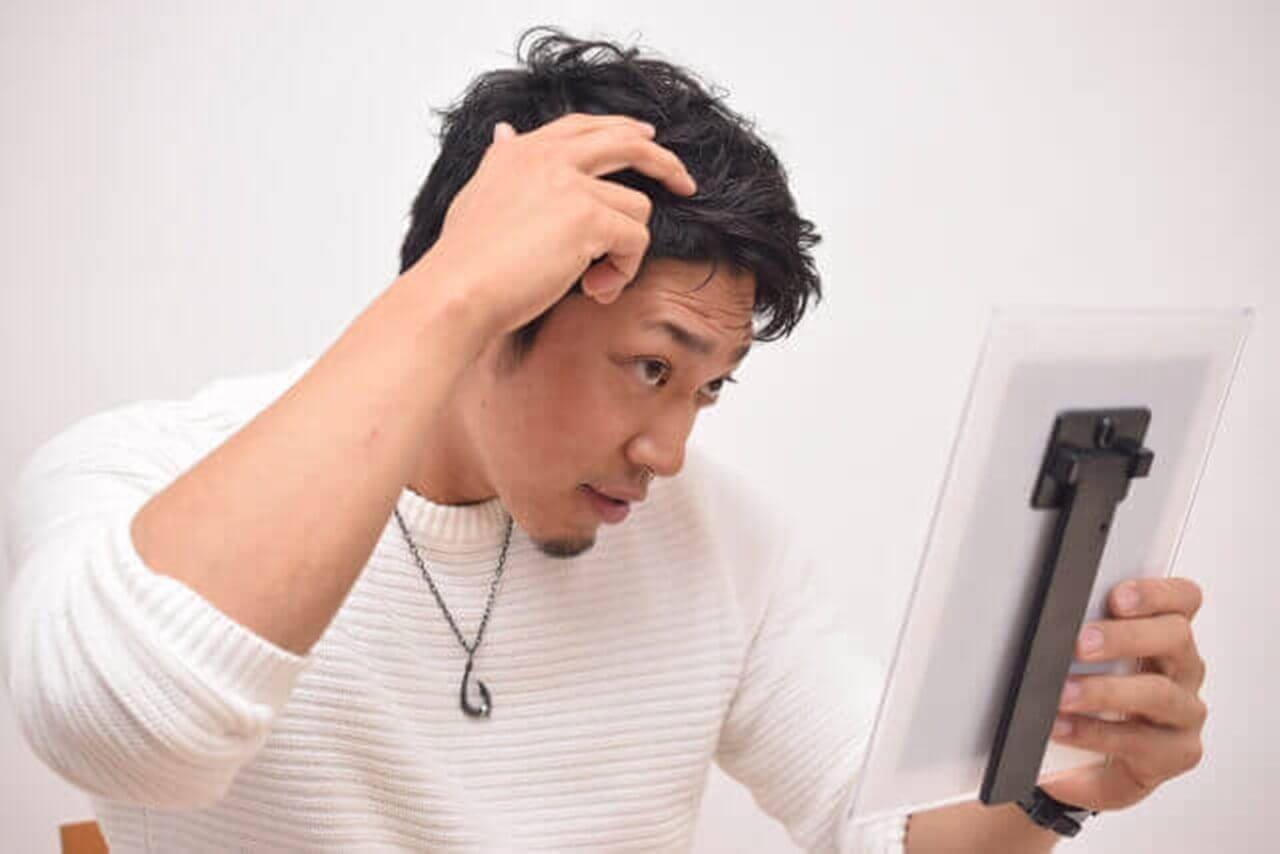 男性用白髪染め