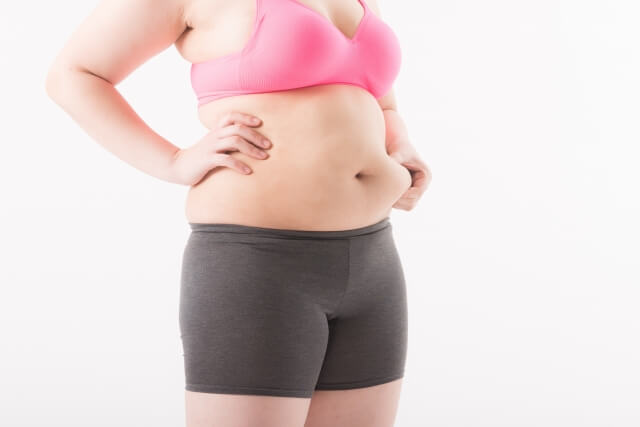 産後の体型崩れ
